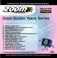 Karaoke Korner - Zoom Golden Years 1978