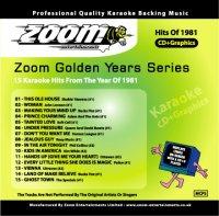 Karaoke Korner - Zoom Golden Years 1981