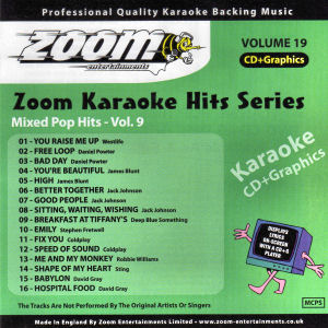 ZKH19 - Zoom Karaoke Hits Vol  19
