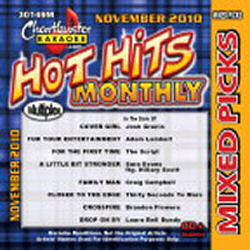 Karaoke Korner - Hot Hits Monthly Mixed Picks November 2010