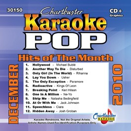 Karaoke Korner - DECEMBER 2010 POP MONTHLY HITS