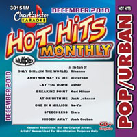 Karaoke Korner - DECEMBER 2010 HOT HITS POP/URBAN MONTHLY HITS