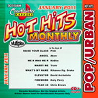 Karaoke Korner - POP/URBAN HITS OF THE MONTH (MULTIPLEX) JAN 2011