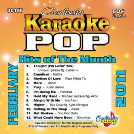 Karaoke Korner - POP HITS OF FEB 2011