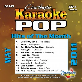 Karaoke Korner - MAY 2011 POP HITS