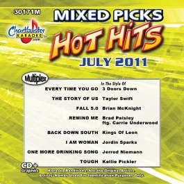 Karaoke Korner - Mixed Picks - July 2011
