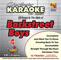 Karaoke Korner - BACKSTREET BOYS VOLUME #4