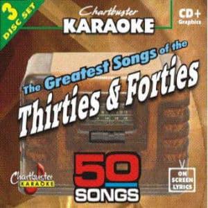 Karaoke Korner - 30's & 40's HITS
