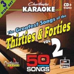 Karaoke Korner - 30's & 40's HITS #2