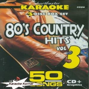 Karaoke Korner - 80's COUNTRY HITS #3