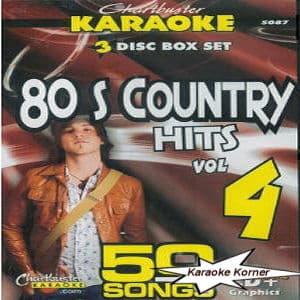 Karaoke Korner - 80's COUNTRY HITS #4