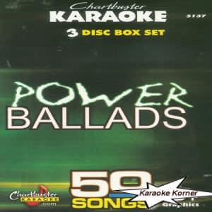 Karaoke Korner - POWER BALLADS