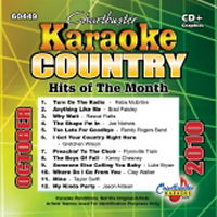 Karaoke Korner - COUNTRY HITS OCTOBER 2010