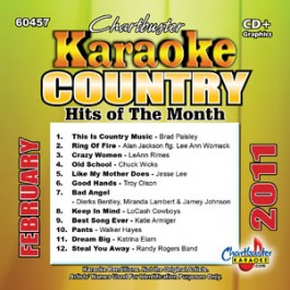 Karaoke Korner - COUNTRY HITS FEB 2011