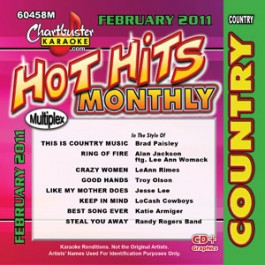 Karaoke Korner - HOT HITS COUNTRY FEB 2011