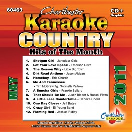 Karaoke Korner - MAY 2011 COUNTRY HITS