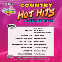 Karaoke Korner - JANUARY 2012 COUNTRY HOT HITS - MultiPlex