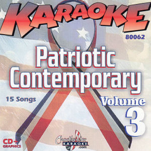 Karaoke Korner - Patriotic Contemporary Vol. 3