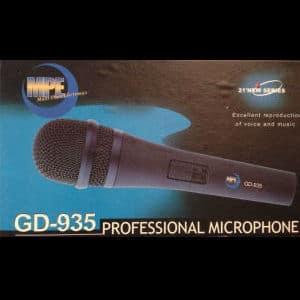 Karaoke Korner - Gold GD-935 Pro Mic