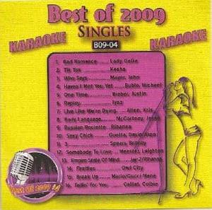 Karaoke Korner - BEST OF 2009 KARAOKE Vol.4