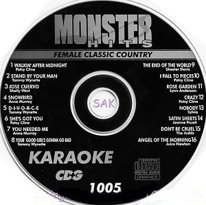 Karaoke Korner - Male New Wave Hits