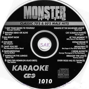 Karaoke Korner Male 70 80s Classics