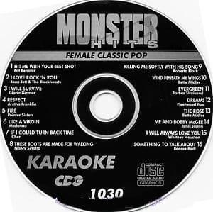 346f9bcab Karaoke Korner - Female Classic Pop