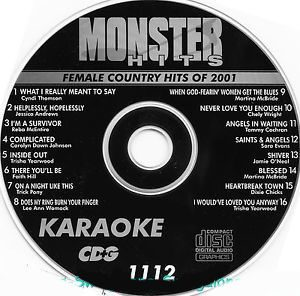 Karaoke Korner - Female Country Hits 2001