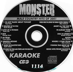 Karaoke Korner - Male Country Hits 2001
