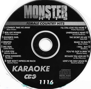Karaoke Korner - Female Country Hits