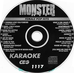 Karaoke Korner - Female Pop Hits