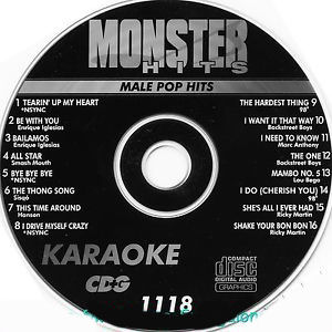 Karaoke Korner - Male Pop Hits