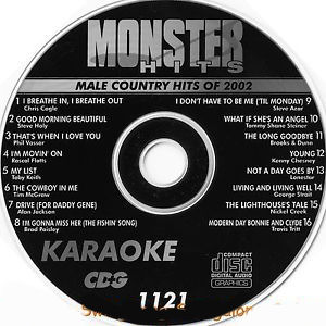 Karaoke Korner - Male Country Hits 2002