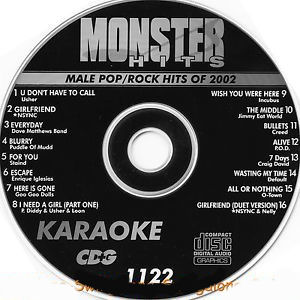 Karaoke Korner - Male Pop-Rock Of 2002
