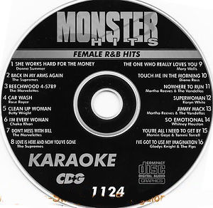 Karaoke Korner - Female RnB Hits
