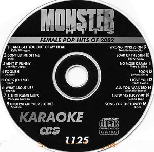 Karaoke Korner - Female Pop Hits 2002