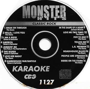 Karaoke Korner - Male Classic Rock
