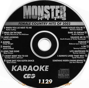 Karaoke Korner - Female Country Hits 2002