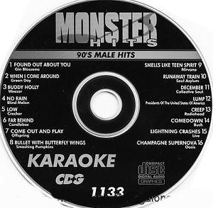 Karaoke Korner - Male 90s Hits
