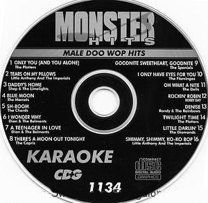 Karaoke Korner - Male Doo Wop Hits