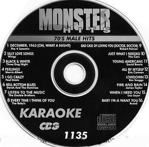 Karaoke Korner - Male 70s Hits