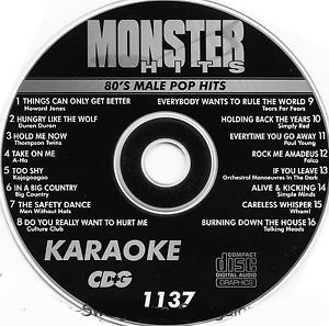 Karaoke Korner - Male 80s Pop Hits