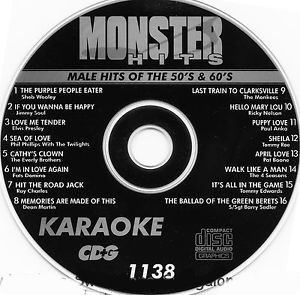 Karaoke Korner - Male Hits Of 50-60s