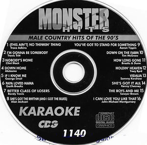 Karaoke Korner - Male 90s Country Hits