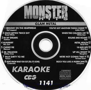 Karaoke Korner - Glam Metal