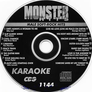 Karaoke Korner - Male Soft Rock Hits