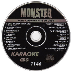 Karaoke Korner - Male Country Hits 2003