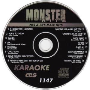 Karaoke Korner - Male 70-80s Hits