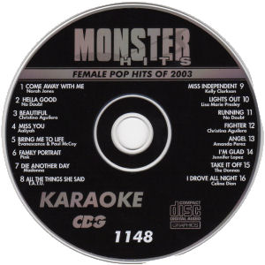 Karaoke Korner - Female Pop Hits 2003
