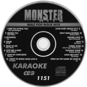 Karaoke Korner - Male Pop-Rock Hits
